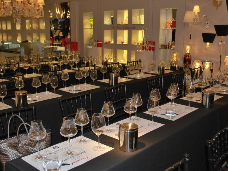 Baccarat chateau event – 2011